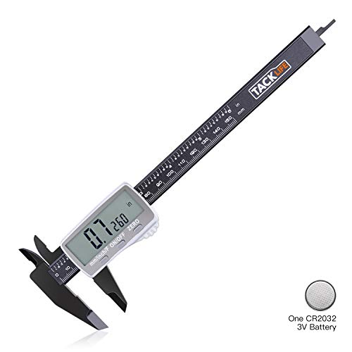Digital Caliper 6 Inch with Larger LCD Display