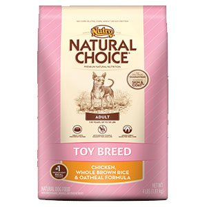 Nutro Toy Breed Adult Chicken Whole Brown Rice and Oatmeal Formula – 4 lbs, My Pet Supplies