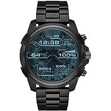 Diesel Men's 'Full Guard Touchscreen' Processor Stainless Steel Smart Watch, Color:Black (Model: DZT2007)