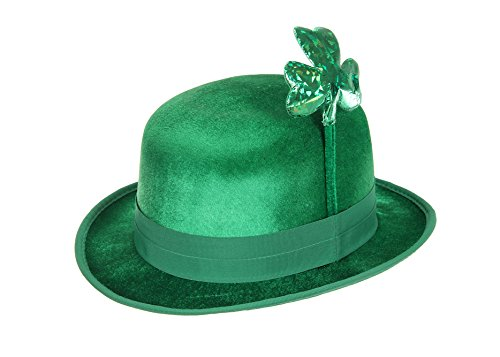 elope Men's St. Patty Bowler Hat, Green, One ()