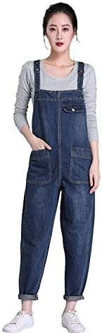 Soojun Womens Casual Baggy Overall