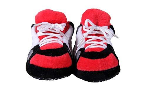 TRA03PR - Toronto Raptors NBA Happy Feet Baby Slippers - Licensed Baby Slipper
