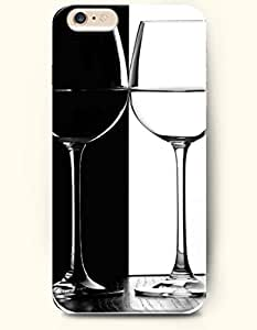 SevenArc New Apple iPhone 6 ( 4.7 Inches) Hard Case Cover - Two Goblet of Cocktail