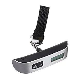 Homeking Electronic Hand Carry Luggage Mini Lcd Scale