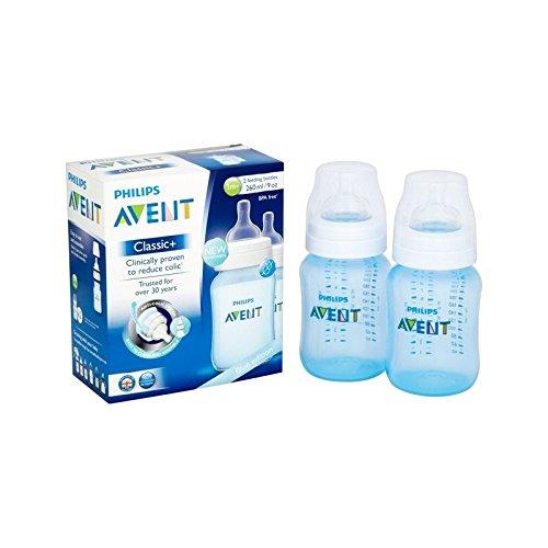 有名な高級ブランド 古典的なプラス青いボトルツインパック (Avent) Bottle (x 6) Blue - Avent Classic Plus (Avent) Blue Bottle Twin Pack (Pack of 6) [並行輸入品] B01M1K15BV, アジアンセレクト POKHARA:ad83289a --- a0267596.xsph.ru