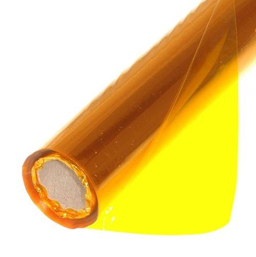 Sadipal SAD 12506 Rotolo 25 Fogli Cellophane, Giallo
