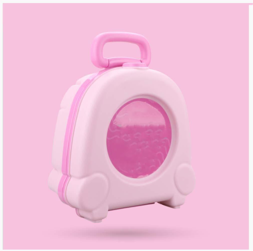 AMY-ZW Children's Portable Travel Toilet Folding Toilet Car Toilet Night Bedside Toilet Children's Toys by AMY-ZW