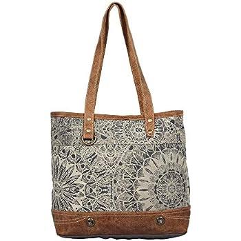 Amazon.com: Myra bolsas noria de material reciclado bolsa de ...