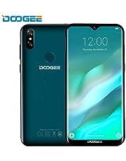"Doogee Y8 Smartphone - Android 9.0 6.1""HD 19: 9 Display Waterdrop Schermo 3400mAh MTK6739 Quad Core 3 GB di RAM 16 GB ROM 4G LTE Impronta digitale Sblocco Doppie SIM Standby Cellulare"