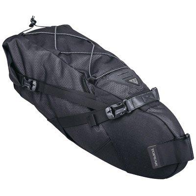 Topeak BackLoader seat Post Mount bikepacking Bag, Black, 15L