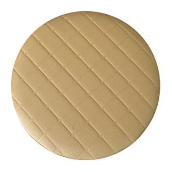 Amazon Com Levoberg Round Stool Cushion Faux Leather