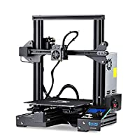 "SainSmart x Creality Ender-3 PRO 3D Printer with Upgraded C-Magnet Build Surface Plate Mat, UL Certified Power Supply, Extra 4 Nozzles, Build Volume 8.7"" x 8.7"" x 9.8"" by SainSmart"