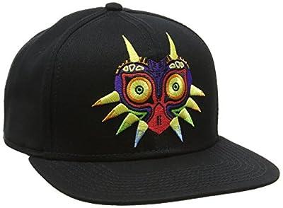 Nintendo Legend Of Zelda Unisex Mask Snapback Baseball Cap, One Size, Black from NINTENDO