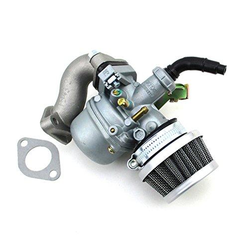 - TC-Motor PZ19 Carb 19mm Carburetor Air Filter Intake Pipe Gasket Set For 50cc 70cc 90cc 110cc ATV Quad 4 Wheeler