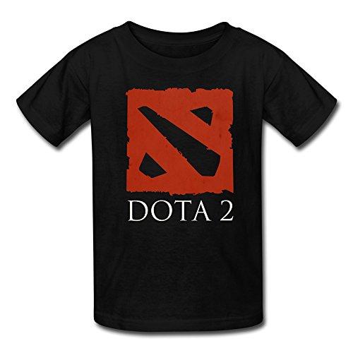 Black Teen T-Shirts Dota Online Battle Arena Mod Warcraft III T Shirt