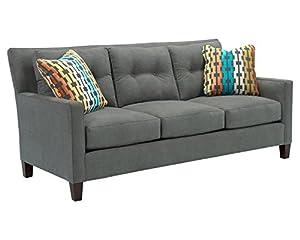 Amazoncom Broyhill Jevin Sofa Slate Kitchen Dining - Broyhill zachary sofa