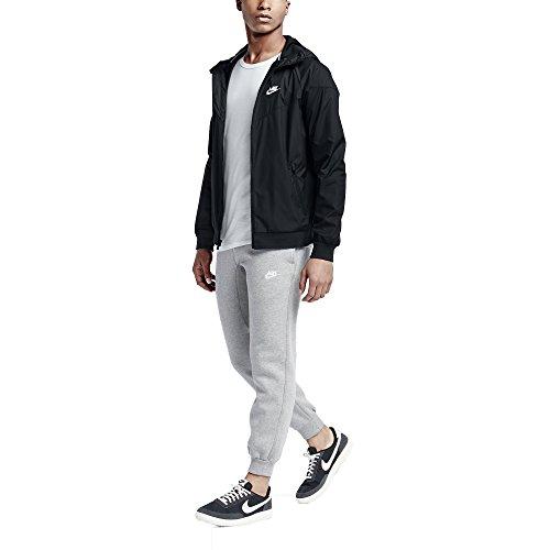 Uomo Schwarz Nike Giacca 727324 Weiß 679 twn7fqfaO