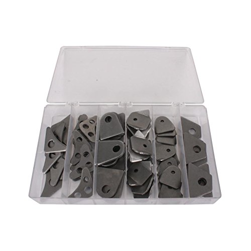 Roll Cage Tubing Gusset/Tab Kit, 60 Piece