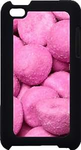funda rigida Ipod Touch 4 4G sour gummy candy purple strawberries