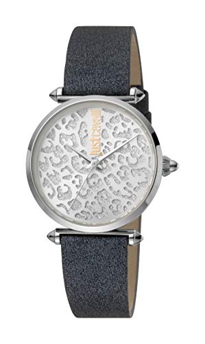Just Cavalli JC1L085L0015 316L Stainless Steel Mineral Crystal Tang Buckle Watch