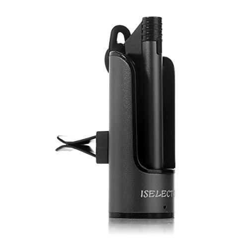 Bluetooth Phone Headset, ISELECTOR Hands-free Echo and Noise Cancellation Wireless Earpiece with In-car Charging...