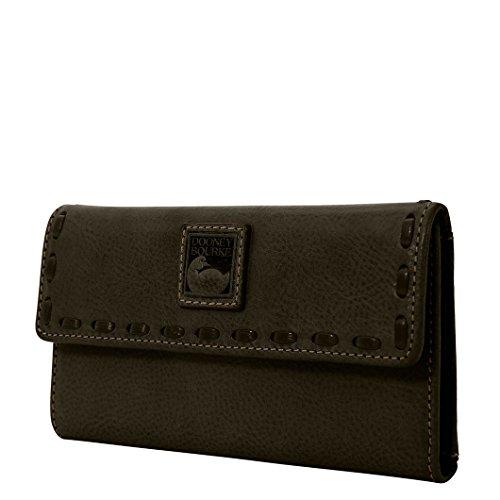 Dooney & Bourke Florentine Continental Clutch - Leather Purse Florentine