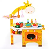 ZaiQu Children's Toys Simulation Game Simulation Kitchen Wooden Quality Boy Girl Cooking Set 3-5 Birthday Gift Early Education Educational Toys (Size : A)