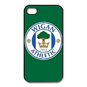 iphone4 4s phone case Black for wigan athletic logo - EERT3407520