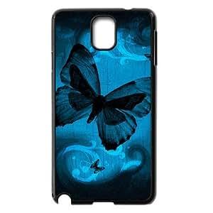 ALICASE Diy Case Butterfly For samsung galaxy note 3 N9000 [Pattern-1] Kimberly Kurzendoerfer
