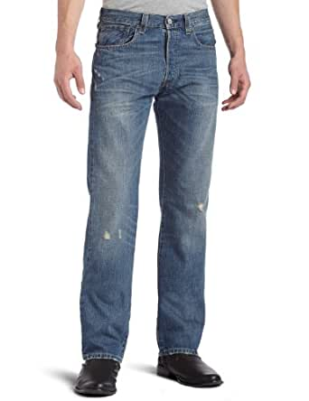 Levi's Men's 501 Original Fit Jean, Beat Up, 28x32