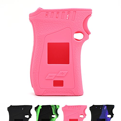 Sunme Shield for SMOK Mag Kit Protective Silicone Case Skin Cover Sleeve Wrap for 225W TC Mag Mod (Pink) ()