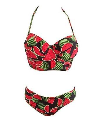 BO@Damen Bikinis - Quasten / Floral Push-Up / Gepolsterte BHs / Bügel
