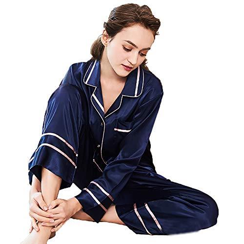 Azul Pantalones Cordón Novia xl m Las Larga Del Servicios Manga Traje La Mujeres De Los Atractivo Lujo Vestido twvzqZ4HTy