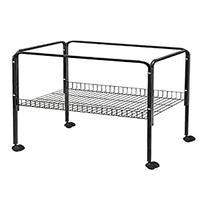 Heritage cages black rabbit cage stand 80 100 120 indoor for Guinea pig stand