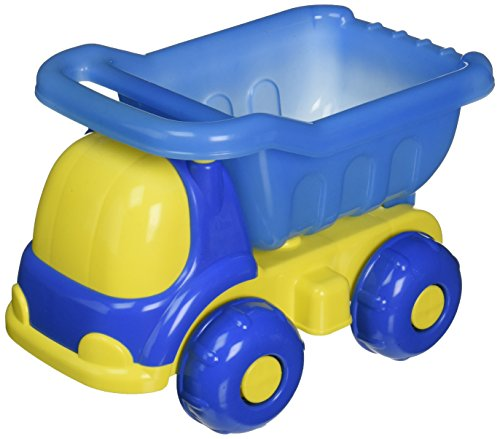 Small World Toys Sand & Water - Peek-A-Boo Dump Truck - Colors vary Toy Dump Display