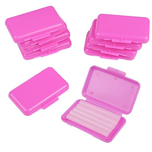 Portal Cool 10 paquetes de ortodoncia dental Ortho Wax For Braces goma irritación aroma a fresa