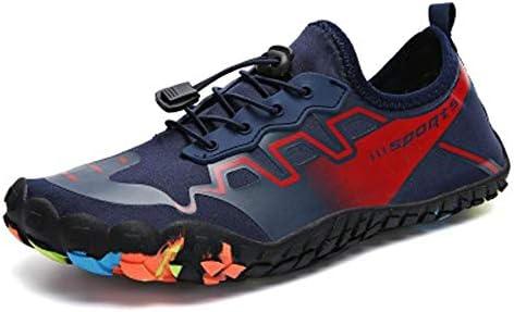 屋外漂流潮吹き乾いた水裸足水海特別なビーチソックス柔らかい靴ひも水泳男性と女性の赤US 4.5 - US 13 ポータブル (色 : Red, Size : US9.5)