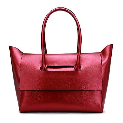 Bag Wine Bag Waterproof Leather Capacity Shoulder b Shoulder Handbag Large Red Bag Women Popular Diagonal Jvps55 Bag zaw7tq5