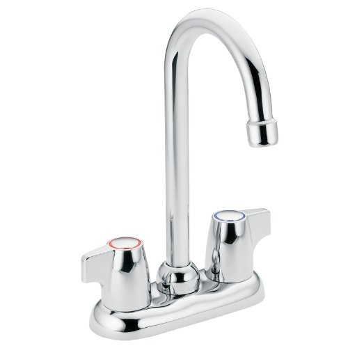 Moen 4903 Chateau Two-Handle High Arc Bar Faucet, (Chateau Two Handle Garden)