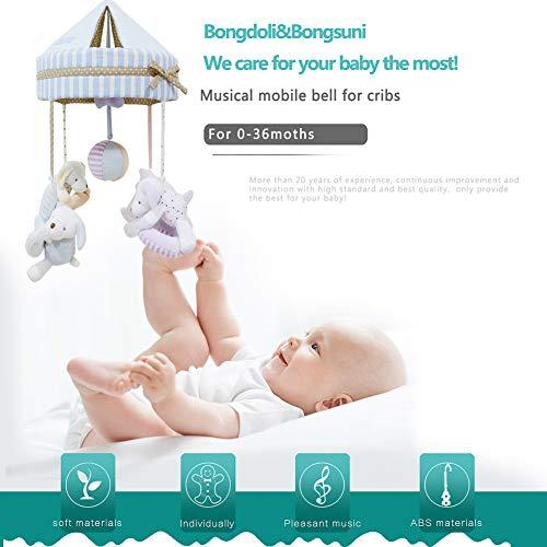 (Bongoli&Bongsuni Baby Crib Musical Mobile Decoration Newborn Gift 35 Tunes Plush Musical Mobile (Love Dog) )