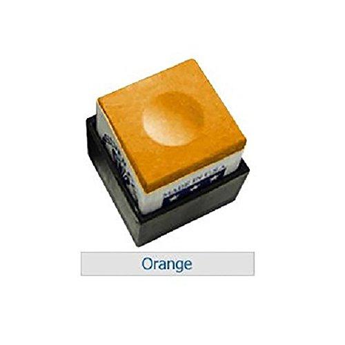 Silver Cup One Dozen Orange Pool Cue Chalk