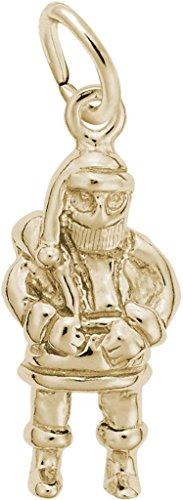 (Rembrandt Santa Charm - Metal - 14K Yellow Gold)