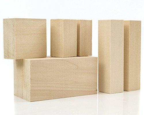 Basswood Wood Carving / Turning Block Measuring 2