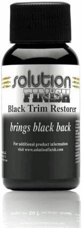 Solution Finish Black Plastic & Vinyl Plastic Trim Restorer