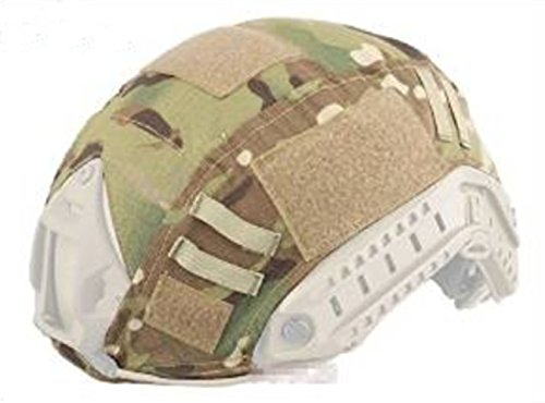 Army Tactical Series Airsoft Paintball Hunting Shooting Gear Combat Fast Helmet Cover Multicam MC Color
