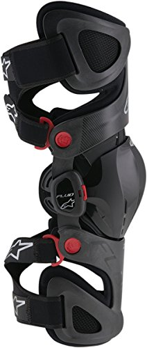 ALPINESTARS Kneebrace Ftech Left S/L - Black Small/Large by Alpinestars