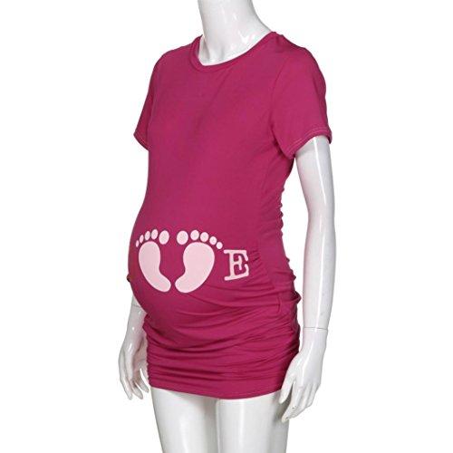 infermiera ' Short Women maternit manica incinta s Amlaiworld Z5fX7q7