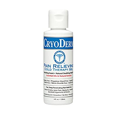 Cryoderm Cold Gel, 4 Oz