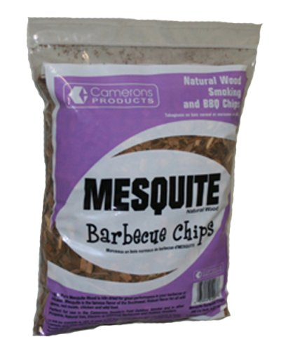 Mesquite Wood Smoker Chips- 100% Natural, Coarse Wood Smoking and Barbecue Chips- 2 lb. Bag (Smoker Mesquite Chips compare prices)