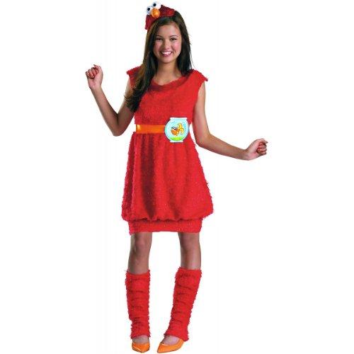 Elmo Tween Costume - X-Large (Halloween Disguise Ideas)